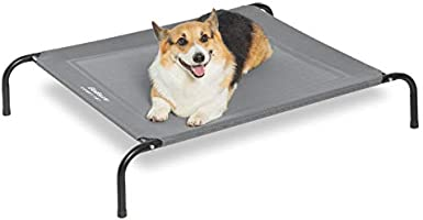 Bedsure Original Elevated Dog Cot Bed - 35/43/49 inches Raised Dog Cots for Large Medium Small Dogs, Portable Indoor &...
