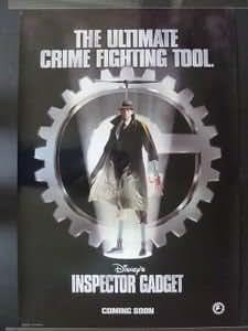 Inspector Gadget Movie Poster 1999 Teaser Matthew