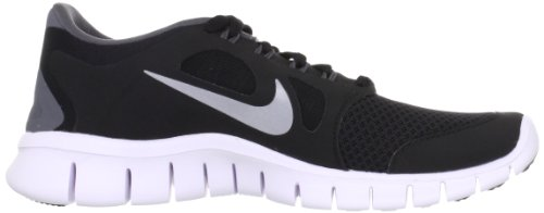 Nike Free Kids Shoes Trainer 5.0 Sport Black / Metallic Silver-Dark Grey-White