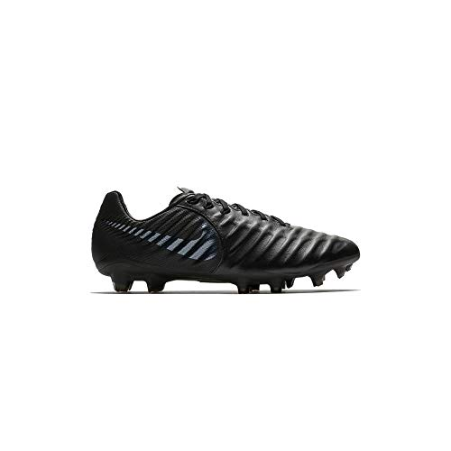 Nike Men Tiempo Legend VII Academy FG Firm-Ground Soccer Cleat, Black/Black 10.5 M - Tiempo Legend Mens Nike