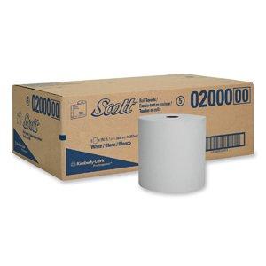 (KIM02000 - SCOTT 02000 High Capacity Hard Roll Paper Towels, 8quot; x 950')
