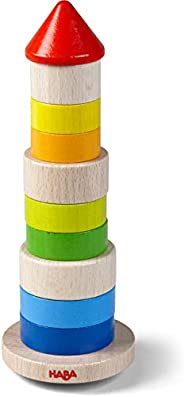 HABA Wobbly Tower Stacking Game (Made in Germany)