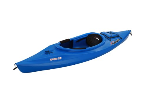 SUNDOLPHIN Sun Dolphin Aruba Sit-in Kayak (Blue, 10-Feet) (Aluminum Shock Collars)