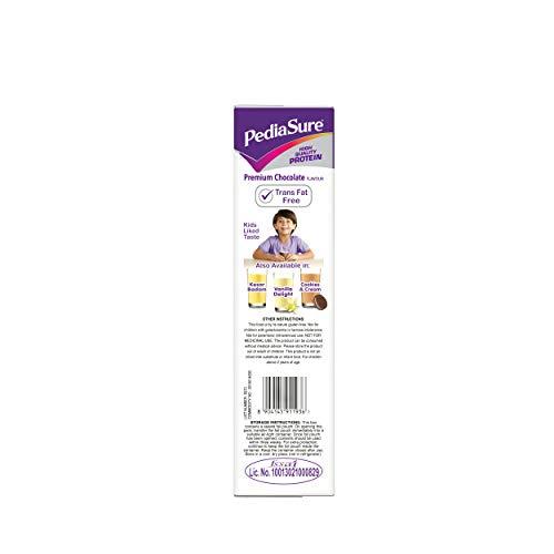 PediaSure Health and Nutrition Drink Powder for Kids Growth - 400g (Premium Chocolate) 2