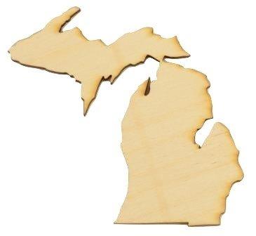 CMMI Michigan State Cutout Size:Small 5.75