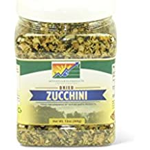 Mother Earth Products Dried Zucchini, Quart Jar