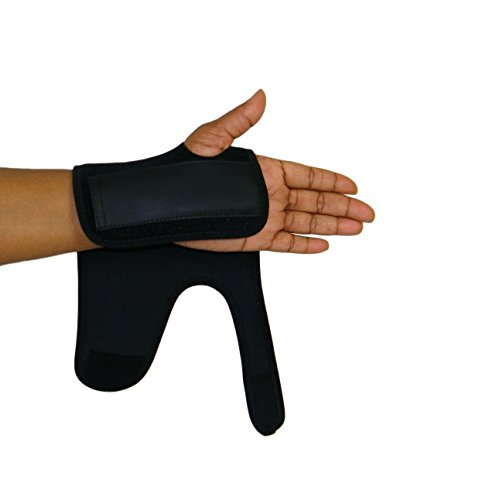 Fractures Wrist (Scan Tru Carpal Tunnel Adjustable Wrist Brace Right Or Left for Women, Men Day Or Nighttime – Breathable, Thin with Metal Splint, Flexible Washable for Work Or Gaming (Short Right))