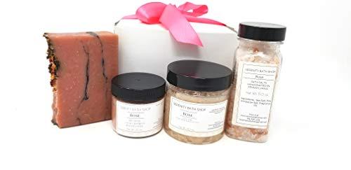 (Rose Scented Bath Gift Set)
