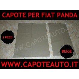 Fiat Panda capoteauto.com Capote pvc Accesorios para descapotable color negro Capotas flexibles