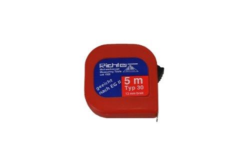 Richter Taschenrollbandma/ß Taschenbandma/ß Bandma/ß 13mm breit L/ängen:Taschen-Rollbandma/ß 30-3m L/änge: 3m