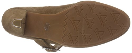 Toe 3005717 Brown Closed Women's Sand 005 Hirschkogel Heels tzpqPOUxOw