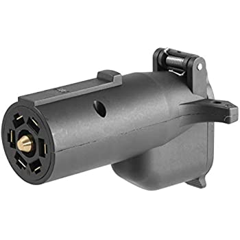 Amazon     CURT    57261 7 RV Blade VehicleSide to    6      Way    Round    Trailer    Wiring Adapter  Center Pin