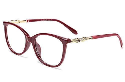 FEISEDY Stylish Women Glasses Frame Clear Lens Eyewear B2472]()