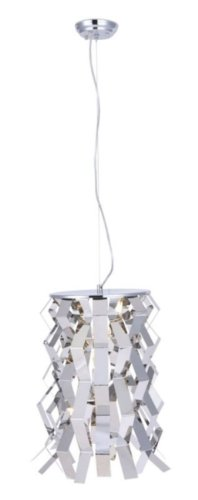 Zuo Modern Fission Ceiling Lamp, Chrome
