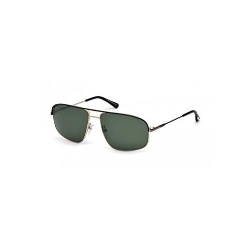 Tom Ford Sonnenbrille Justin Navigator (FT0467) 02N: Matte black