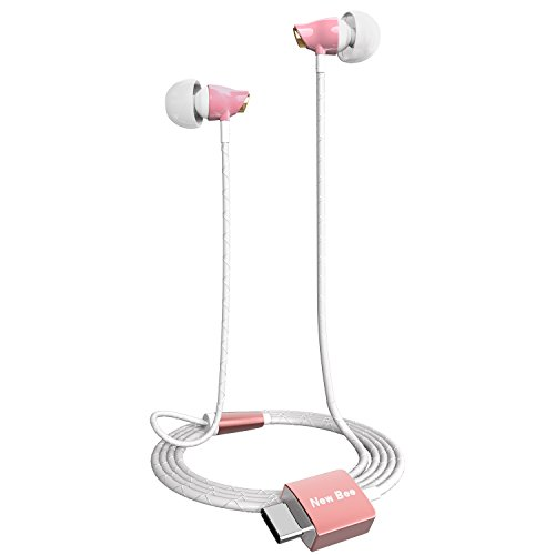 new-bee-usb-c-earphone-ceramic-hifi-level-stereo-earphone-for-huawei-p9-lg-g5-macbookhtc-10-type-c-s