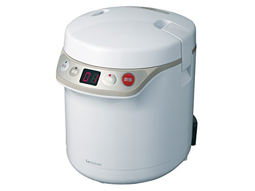 KOIZUMI [with warm-timer function] Rice cooker mini [0.5 to 1.5] Go White KSC-1510 / W