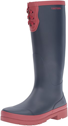 y Rain Boot, Night/Bordeaux, 10 M US (Tretorn Rubber Boots)