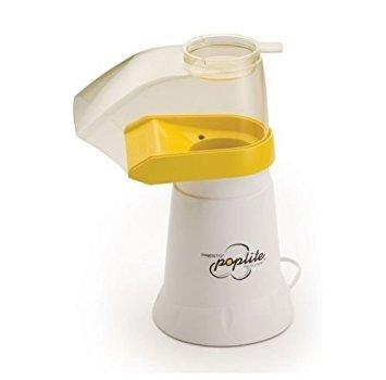 Presto 04820 PopLite Hot Air Popper Healthy Popcorn Home Maker, 18 cups