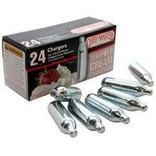 Chef Master N20 Whipped Cream Chargers -- 600 per case. by Mr. Bar-B-Q