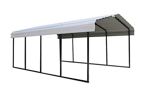 Arrow Backyard Outdoor Garage Shelter Carport 12'X29'X7' 7 CTNS by ShelterLogic