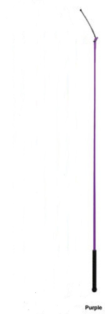 Weaver Leather ONE 39 PURPLE Hawg Hog Pig Sow Show Whip Rubber Handle Removable Poppers