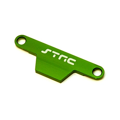 ST Racing Concepts ST3627XG CNC Machined Aluminum HD Battery Hold Down Plate (Stampede/Bigfoot) Green ()