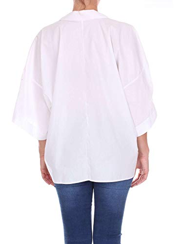 Blanc Coton Chemise 00170001 Femme Bagutta FAwq0xOX1