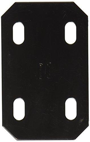 Bracket Black Straight - NATIONAL MFG/SPECTRUM BRANDS HHI N351-462 Mend Brace, 4.7-Inch, Black
