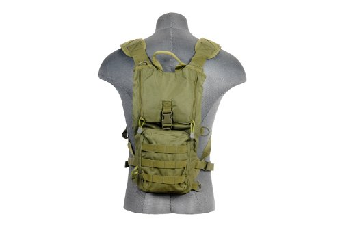 Lancer Tactical Light Weight Hydration Backpack (OD Green)