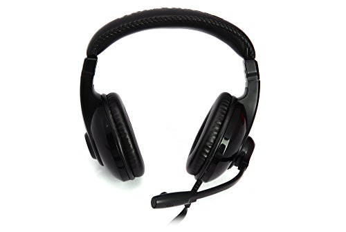 Zalman Gaming Stereo Headset with Microphone & Built-In Volume Control, Black (HPS200) by Zalman (Image #2)