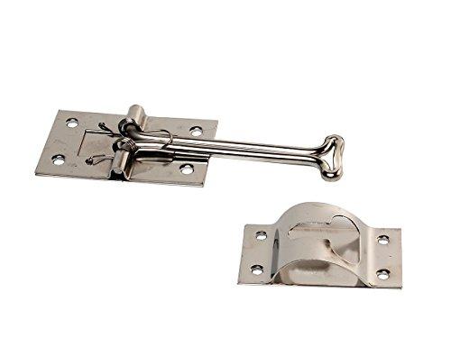 Rv Designer E224 Self Closing Door Holder T Style Stainless Steel