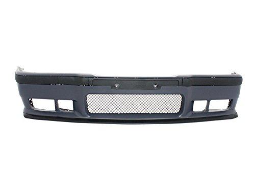Parachoques delantero con faldas laterales KITT/® COCBBME36M3SS polipropileno de alta calidad
