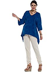 Oh My Gauze Womens China Cotton Blouse Tunic Top One Size