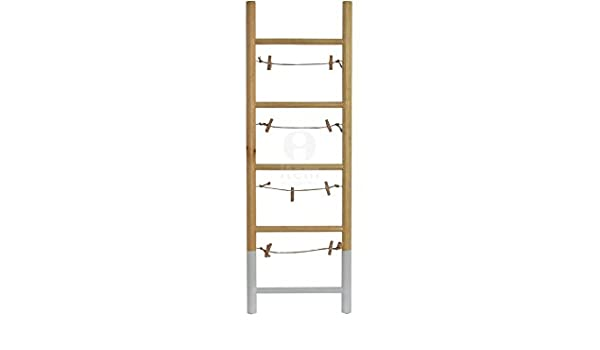 Fotos a escala con pinzas 75 x 25 x 2.5 cm de madera accesorios decoración casa: Amazon.es: Hogar