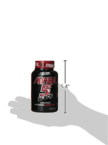 Nutrex Research Anabol-5, 120 Count