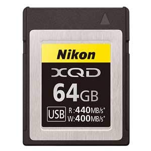 Price comparison product image Nikon XQD Memory Card 64GB MC-XQ64G