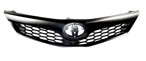 - Front Grill fits Toyota Camry SE | 2012 2013 2014 | Factory Style Replaces 5310106340C0 | by JX Accessories