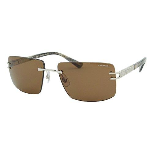 Chopard Classic L.U.C SCH B29 579Z Men Rimless Brown Polarized Square - Chopard Men For Sunglasses