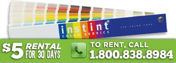 Fibre Glast Instint Color Book - Choose from Hundreds of Colors