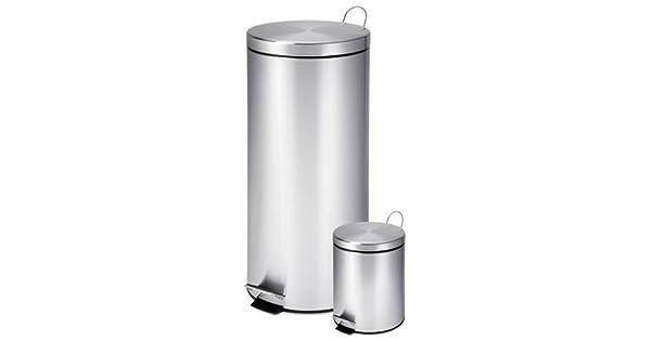 Amazon.com: Honey-Can-Do TRS-01886 30-liter y 3 litros Acero ...