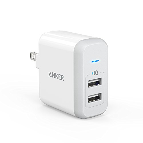 Anker 2 Port Charger PowerPort PowerIQ product image