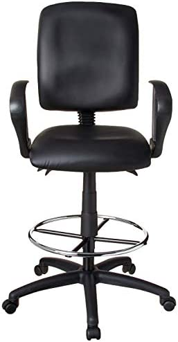 office products, office furniture, lighting, chairs, sofas,  drafting chairs 9 image Boss Office Products Multi-Function LeatherPlus Drafting Stool promotion