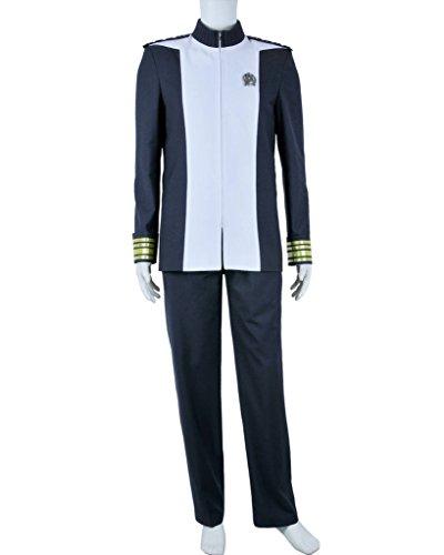 CosplayNow Star Trek Admiral Marcus Cosplay Costume Uniform Grey Custom (Star Trek Costumes Custom Made)