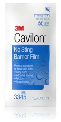 3M (3345) No Sting Barrier Film 3345 [You are purchasing the Min order quantity which is 1 Case] by Cavilon
