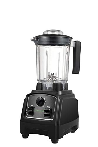 (Cleanblend ULTRA: A Low Profile Countertop Blender With A BPA Free 40 oz. Container, A Stainless Steel 8 Blade System and stainless steel drivetrain. Great for smoothies, nut butters and mixing)