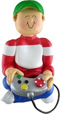 Ornament Central OC-095-M Video Game Player Ornament (Christmas Ornaments Xbox)