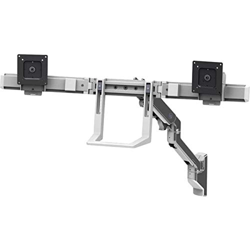 hx dual monitor arm wall