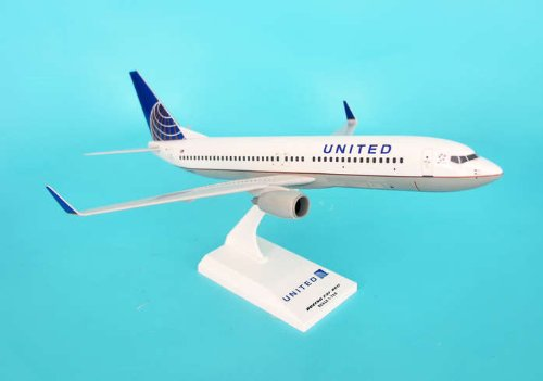 Livery Post - United 737-800 Post Co Merger Livery (1:130); SKR603