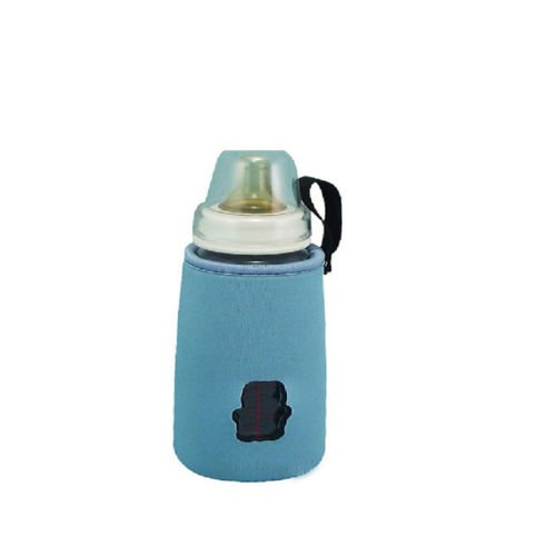 Kids Baby Pouch Bottle Cover Holder Insulated Warmer Lanyards Size Extra Large S/Blue Color